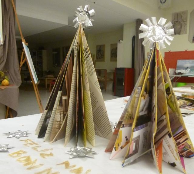arbol navidad papiroflexia