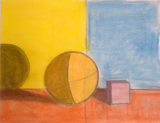 Carlota (9) carboncillo y pastel