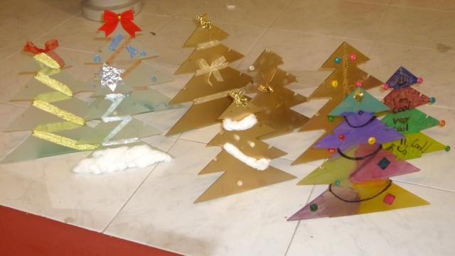 arbolitos de navidad customizados xiquets