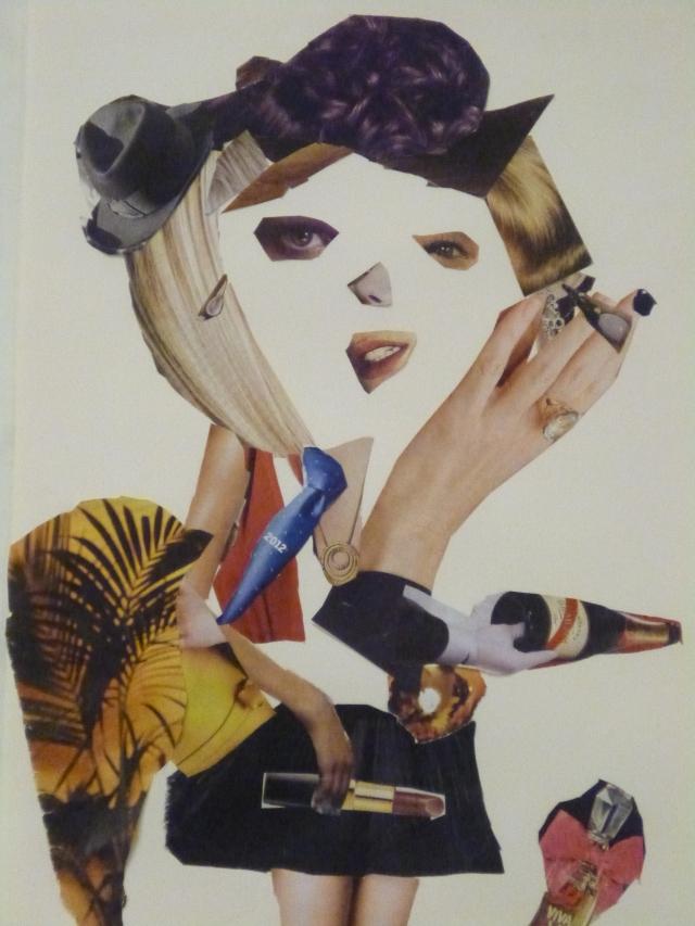 retrato realizado por EVA