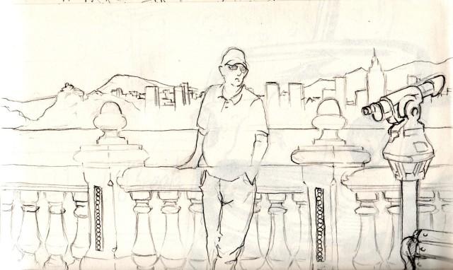 dibujo de Oscar