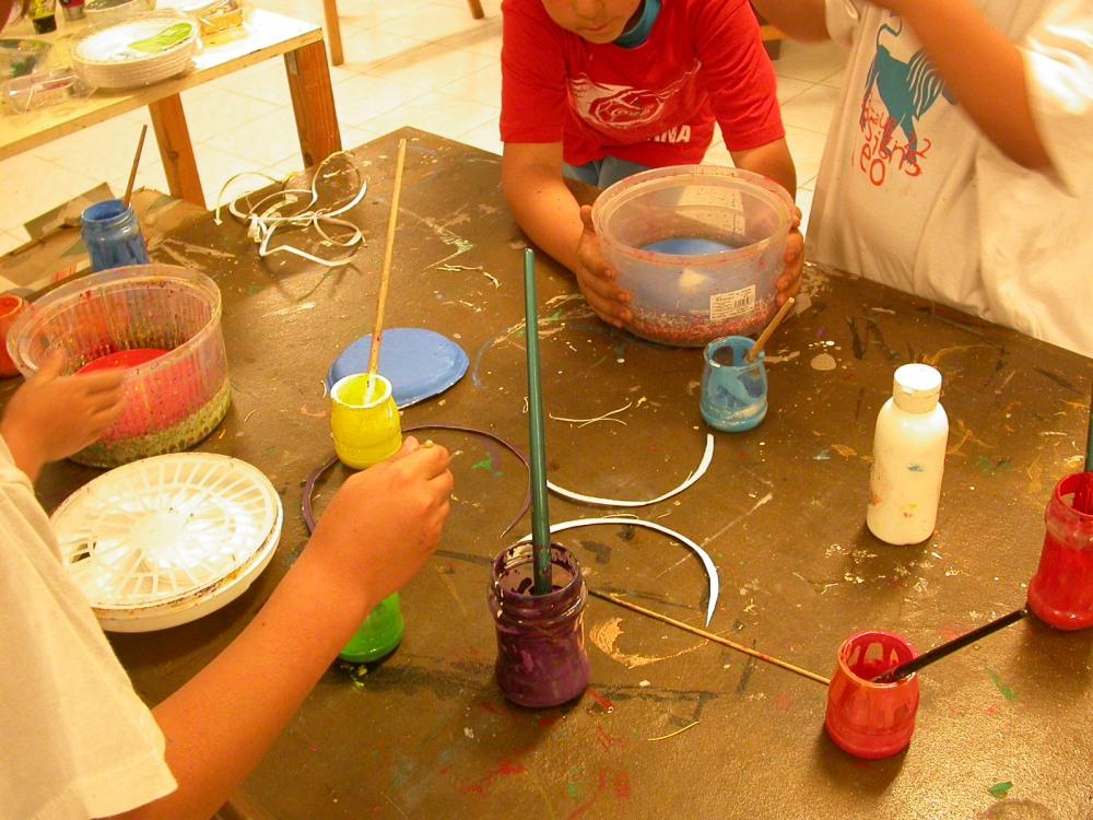 Círculo cromático y pintura centrifugada (4/6)