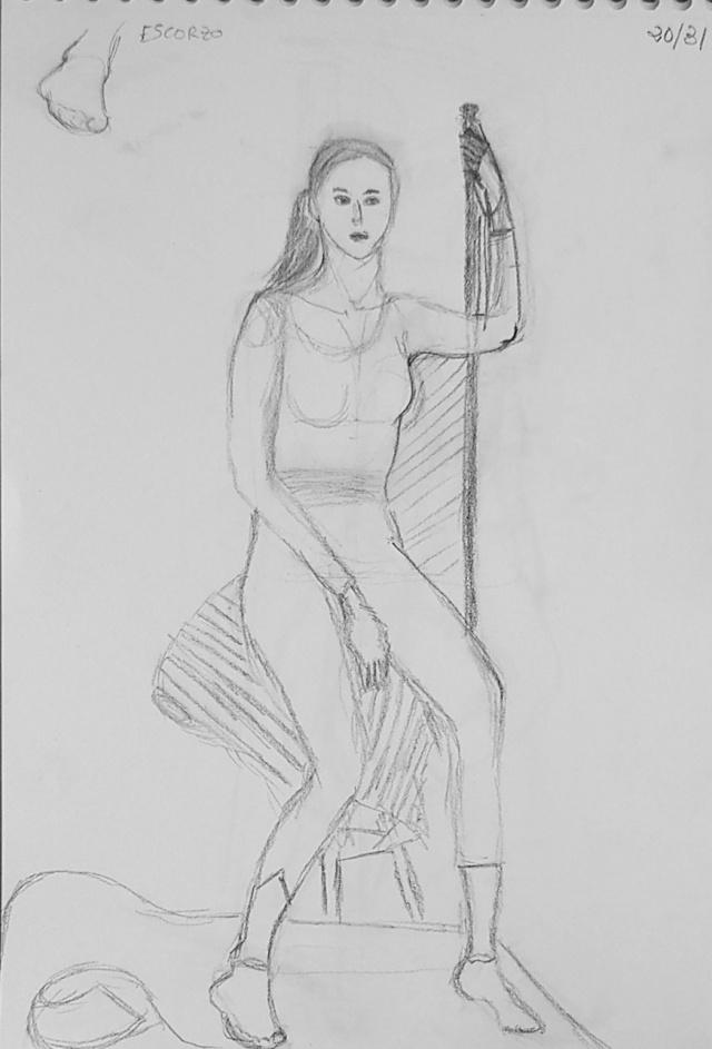 dibujo de Miryam