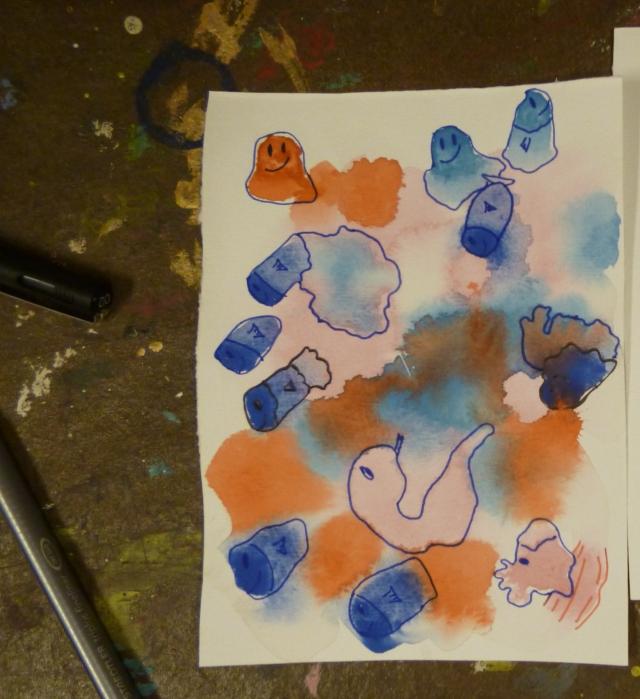 pececitos y medusas